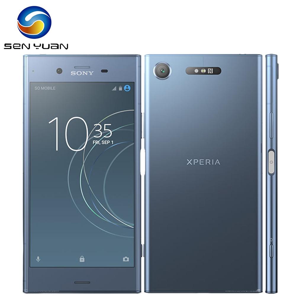 "SONY Xperia XZ1 G8341 64 4G RAM ROM G 5.2 ""Core Octa 19MP smartphone WIFI GPS Android Telefone Móvel LTE"