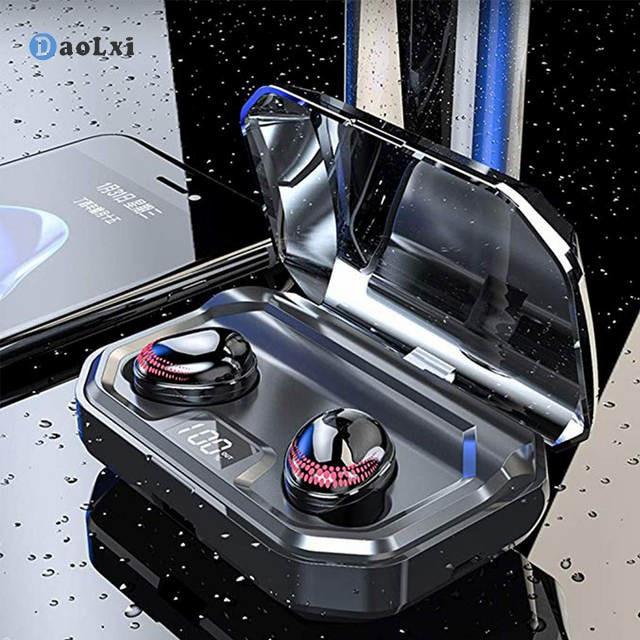 DaoLxi TWS X10 Drahtlose Ohrhörer Bluetooth 5,0 Kopfhörer Touch Control Wasserdichte Noise Cancelling Kopfhörer mit Mikrofon