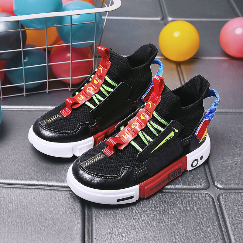 2021 Autumn Kids Sport Shoes For Boys Sneakers Boy Breathable Casual Children Shoes Baby Boys Child