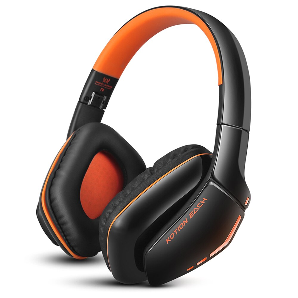 KOTION EACH B3506-auriculares, inalámbricos por Bluetooth, auriculares estéreo plegables para videojuegos con micrófono para teléfonos y llamadas