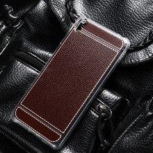 Peinée Téléphone Housse en silicone pour Sony Xperia C4 double E5333 E5306 E5303 E5353 E5343 E5363 5.5 pouces TPU Litchi couverture