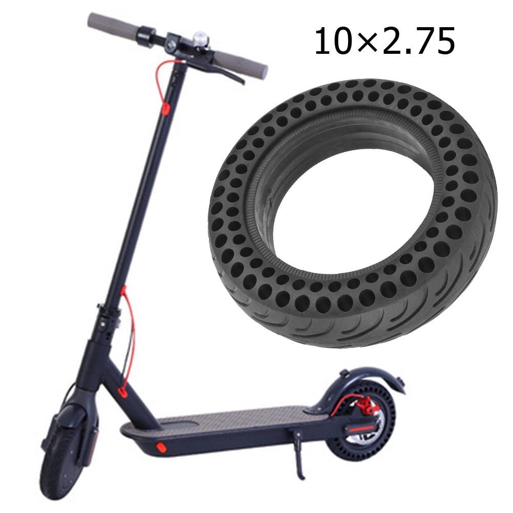 10-дюймовая шина для электроскутера 10 х2, 75 Взрывозащищенная шина с сотовой структурой для XiaoMi NO9 балансировочная Автомобильная Взрывозащище...