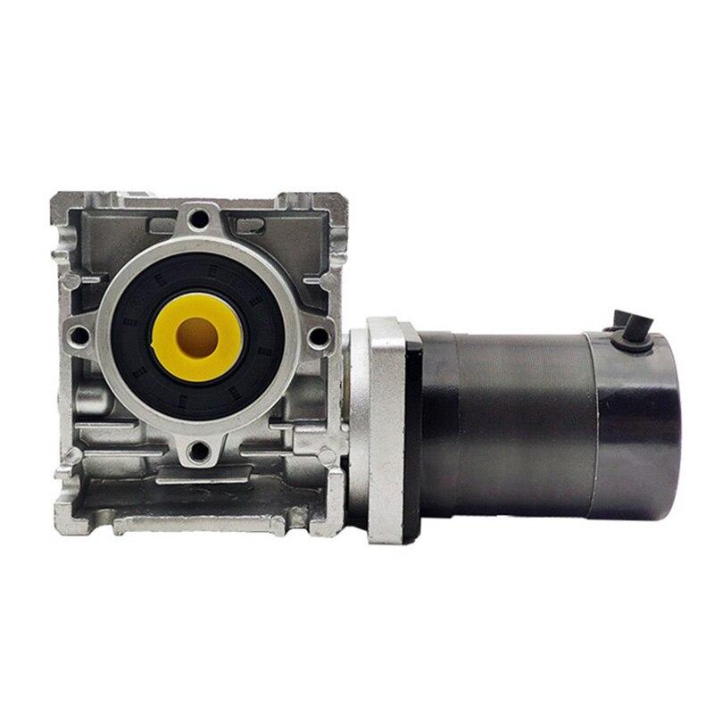 100w 57 milimetros motor brushless dc 24v com verme caixa de velocidades proporcao