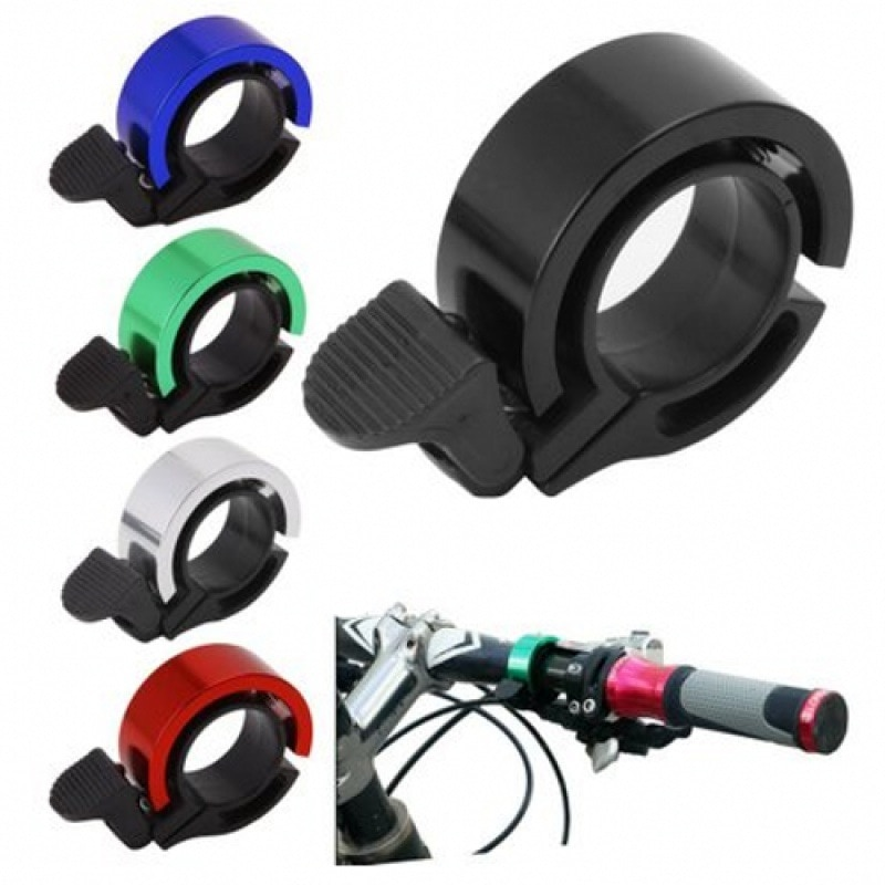 Bike Bell Aluminum Alloy MTB Mountain Road Bike Horn Sound Alarm Safety Cycling Handlebar Child Bicycle Call Bike Accessories