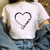 womens t shirt cute heart love printt shirt basic o neck short sleeved ladies white t shirt kawaii graphic girl t shirt