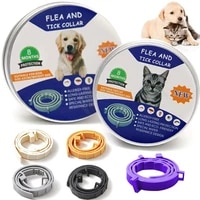 removes flea and tick collar adjustable dogs cats pet flea tick collar anti mosquito and insect repellent cat dog accessaries