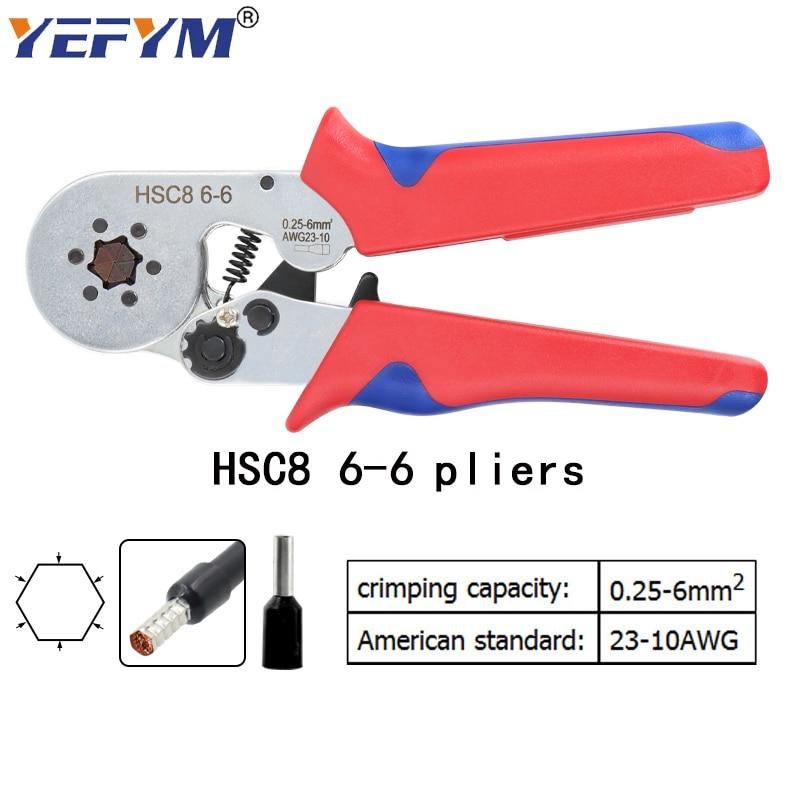 HSC8 10SA / 6-4 0,25-10mm2 23-7AWG 6-6 0,25-6mm2 nagy pontosságú - Kézi szerszámok - Fénykép 3