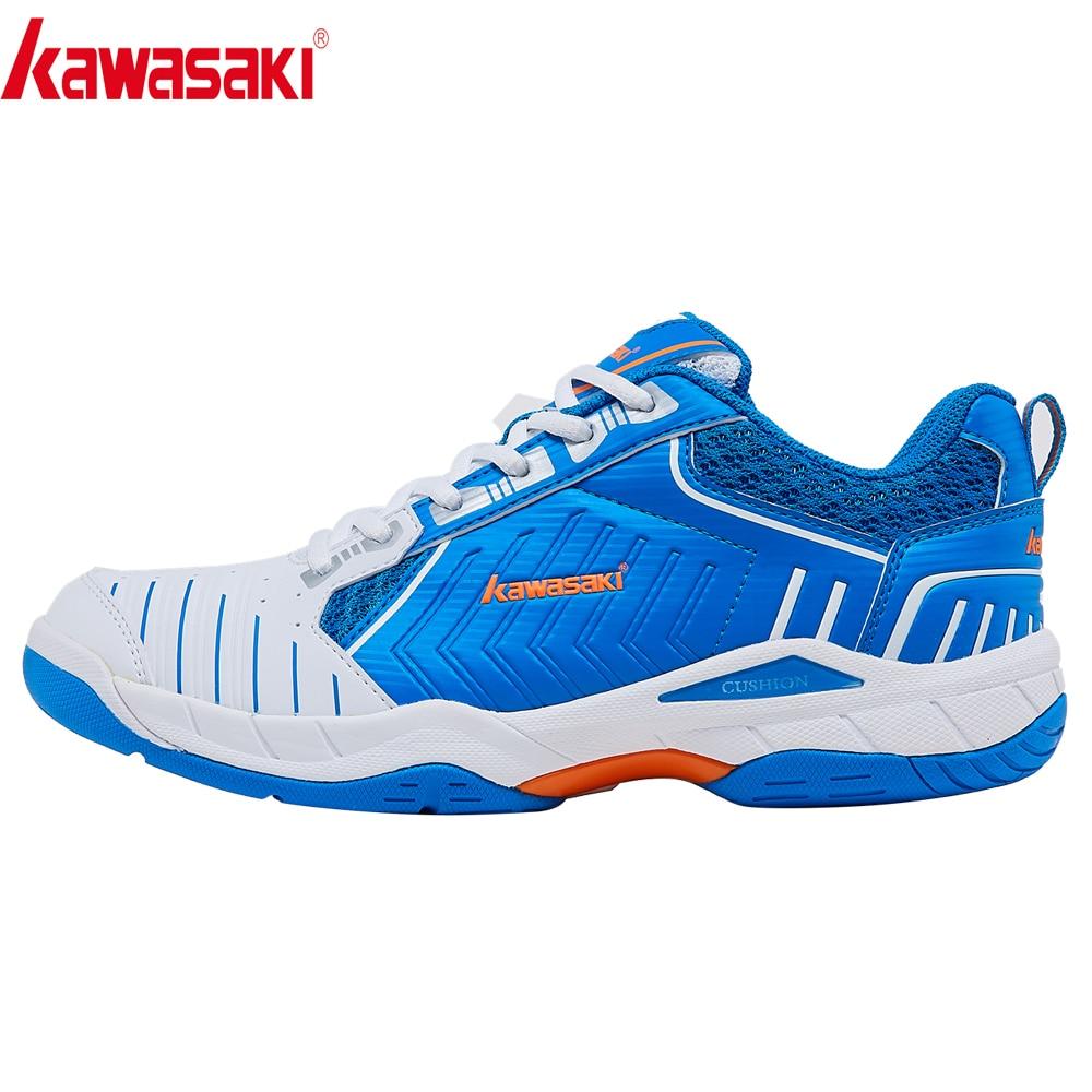 Kawasaki Zapatillas para bádminton para hombres mujeres deportes de interior tenis zapatos antideslizantes Mujer K-162