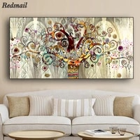 tree of life landscape diamond painting full diamond set 3d cross stitch round drill pictures for embroidery diamond artee020