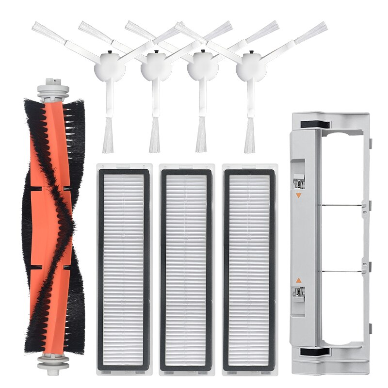 ل Dreame D9 الروبوتية مكنسة كهربائية فرشاة الرئيسية الجانب فرشاة HEPA تصفية استبدال الملحقات
