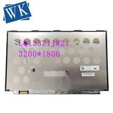 LQ133Z1JW21 13.3 QHD LCD écran LED 3200*1800 EDP 40 broches DP/N 0RXN49