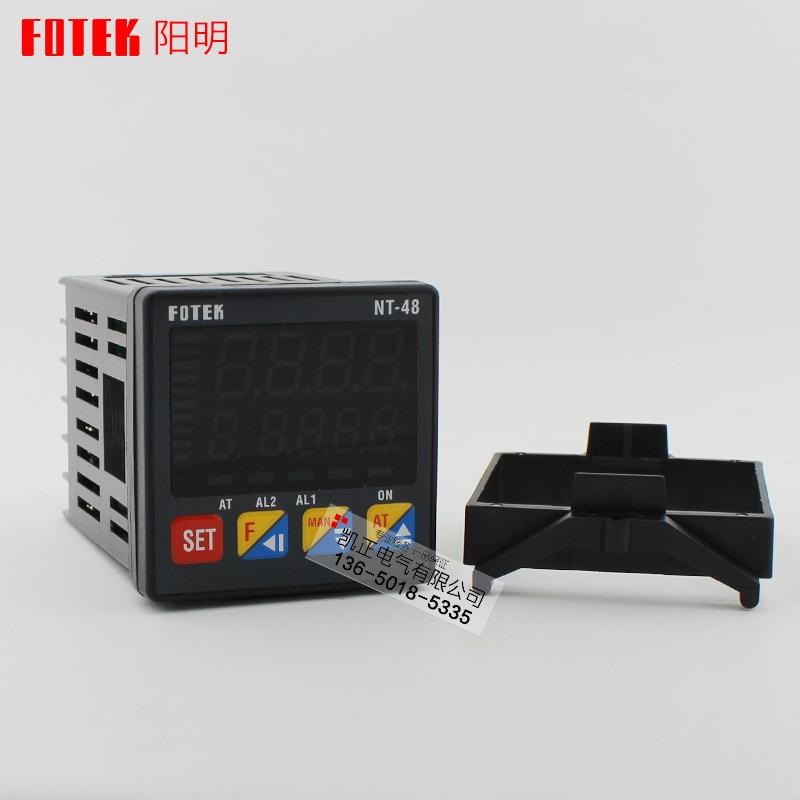 الأصلي أصيلة تايوان FOTEK ترموستات NT48-R-E NT48-V-E فحص جديد NT-48R التتابع NT-48V SSR NT48-L4-20ma