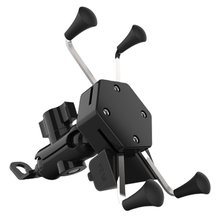 Motorcycle Mobile Phone Holder Bracket USB Car Charging Source Navigation Scooter X-Type Charger Wit