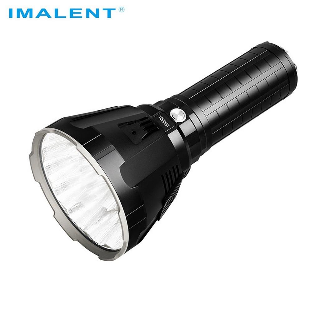 IMALENT MS18 LED Flashlight 100000 Lumen Tactical Flashlights XHP70.2 High Power Military Tactical Flashlight with 21700 Battery enlarge