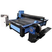 Vuelos baratos de China máquina de corte por plasma cnc para 35mm de corte de acero con rotary/1325/1530 de Agua Mesa cortadora de plasma de metal
