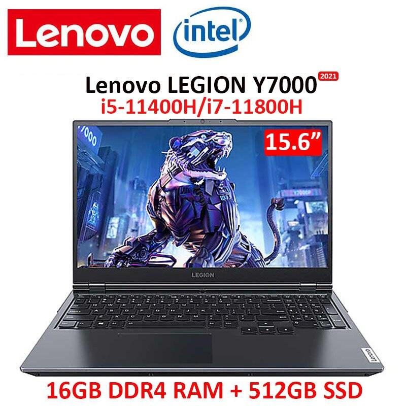 Review Lenovo Legion Y7000 2021 Gaming Laptop Intel i5-11400H/i7-11800H High Refresh Rate IPS Full Screen Windows10 Backlit metal body