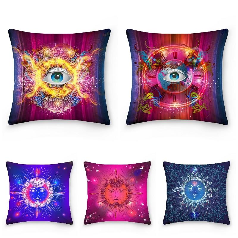 3D наволочки с глазами, декоративные наволочки для спальни, дивана, кресла, кресла, кровати, автомобиля, домашний декор, наволочка