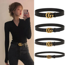 Fashion Cinturones Para Mujer Gg Belt for Women Luxury Designer Brand Genuie Leather Ladies Jeans fo