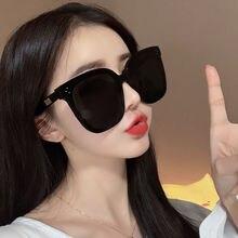 Vazrobe 18cm lunettes de soleil surdimensionnées femmes mâle unisexe noir lunettes de soleil pour hommes femme énorme grand grand