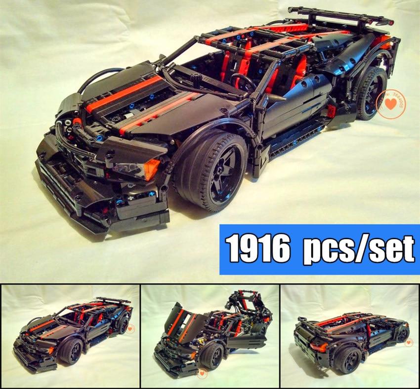NEW MOC  Assassin X19 Children Model Car Fit Lepinings Technic Racer Model City Building Block Bricks Diy Toy Gift Kid Birthday