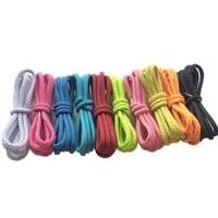 100pairslot brand weiou wholesale 0 45mm shoe laces different color shoelaces bulk plastic tips reflective sports shoestring