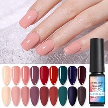 NICOLE journal Holo rouge paillettes UV Gel vernis à ongles Super brillant violet UV vernis à ongles vernis