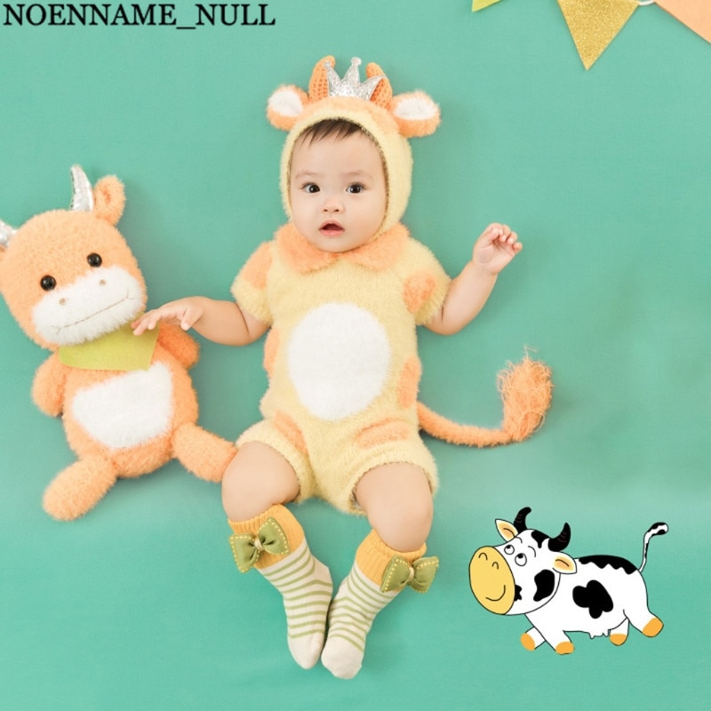 3/5 Pcs Baby Cotton Hat Romper Socks Doll Banner Pull Flag Newborn Photography Props Outfits Infants Photo Shooting Accessories