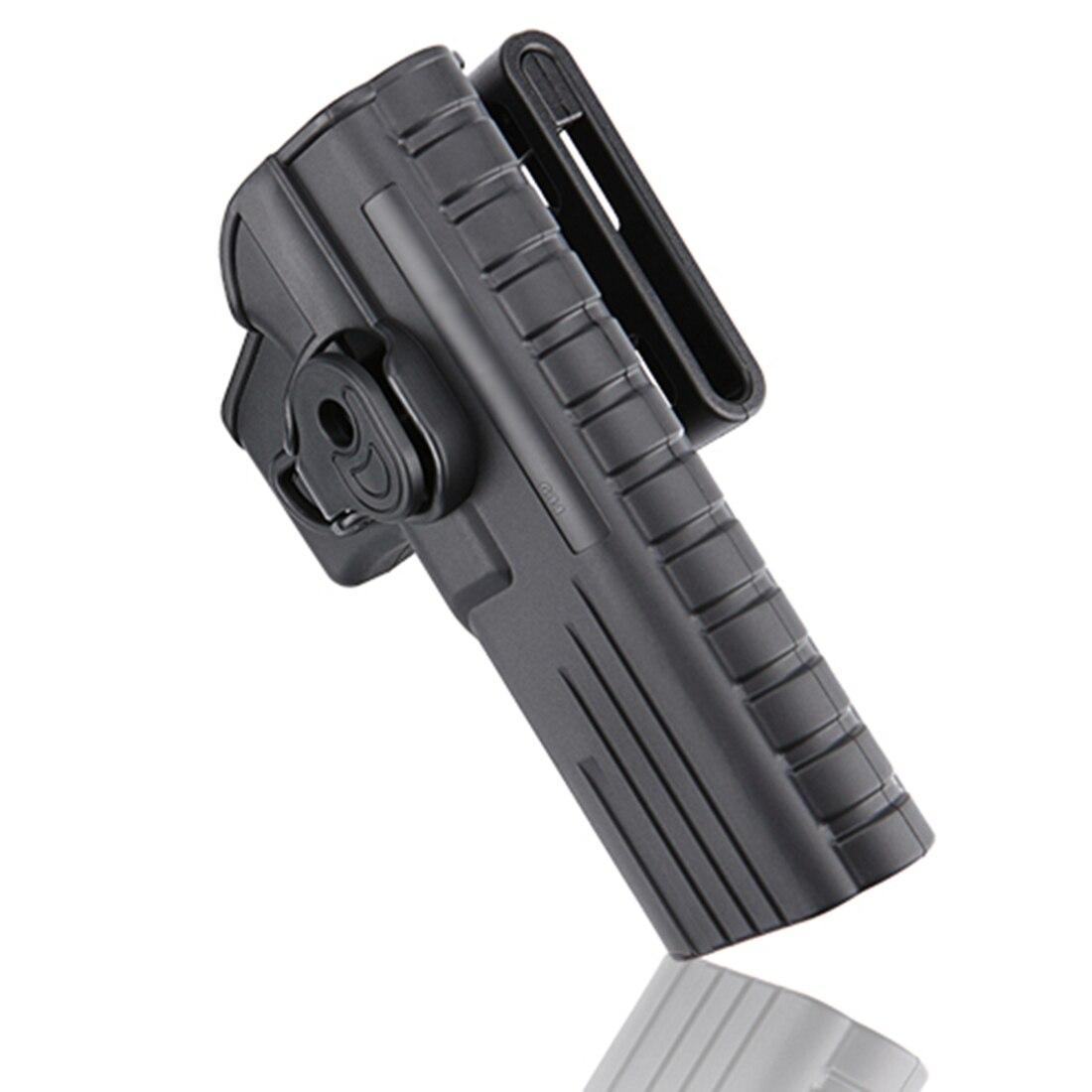 Funda táctica ajustable MODIKER para Glock 34 y para réplica, negro para mano derecha
