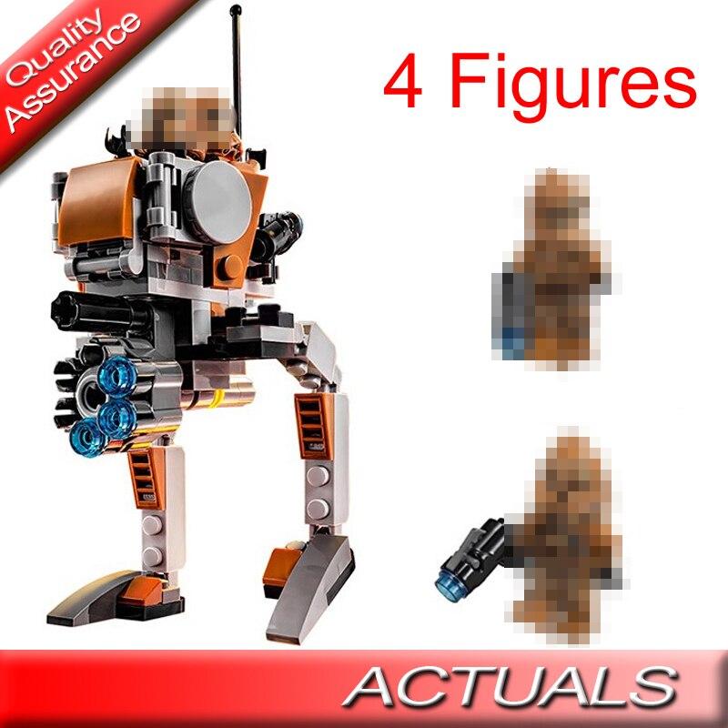 BELA 10368 estrella clásica del espacio Seires Wars Geonosis Troopers bloques de construcción DIY ladrillos niños juguetes 1 75089