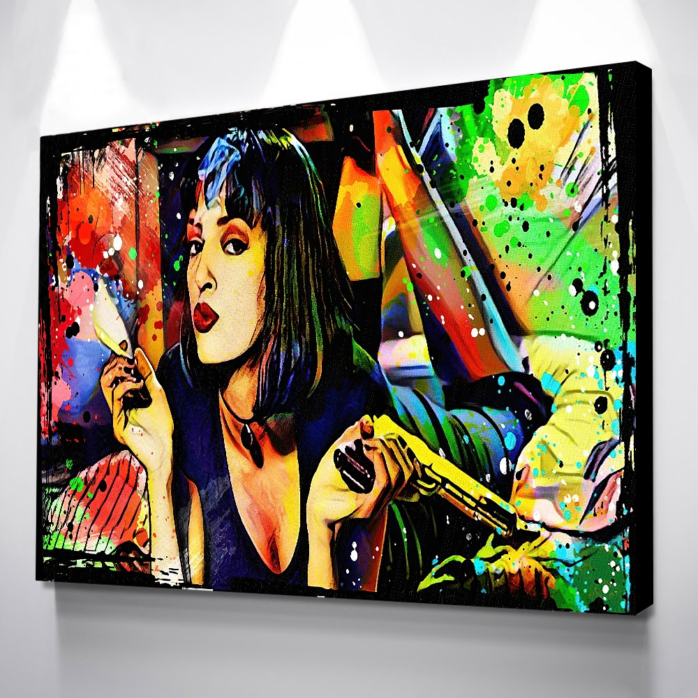 Plakat filmowy bogini wystrój pokoju plakaty obraz ścienny na płótnie Laminas Decorativas pared cuadros Portada De Revista