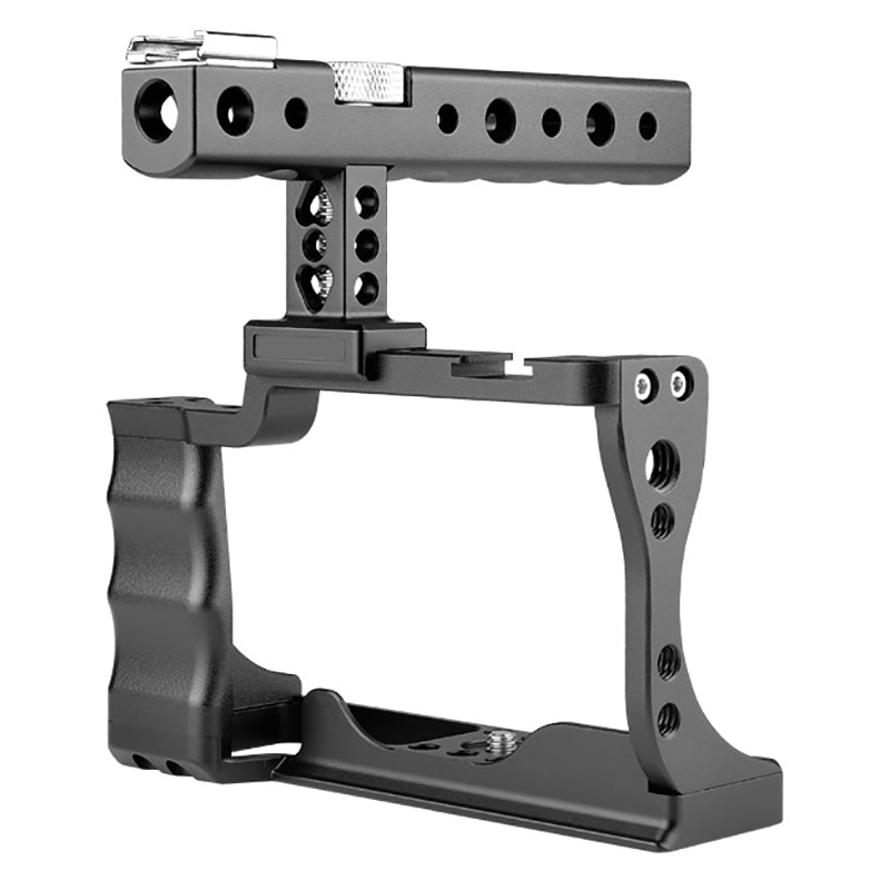 FFYY-قفص أرنب للكاميرا للتصوير الفوتوغرافي ، لكانون M50 ، قفص أرنب ، كاميرا SLR بمقبض