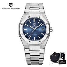 2021 PAGANI DESIGN Men's Watch Automatic Mechanical Sapphire Watch Stainless Steel Waterproof Japane
