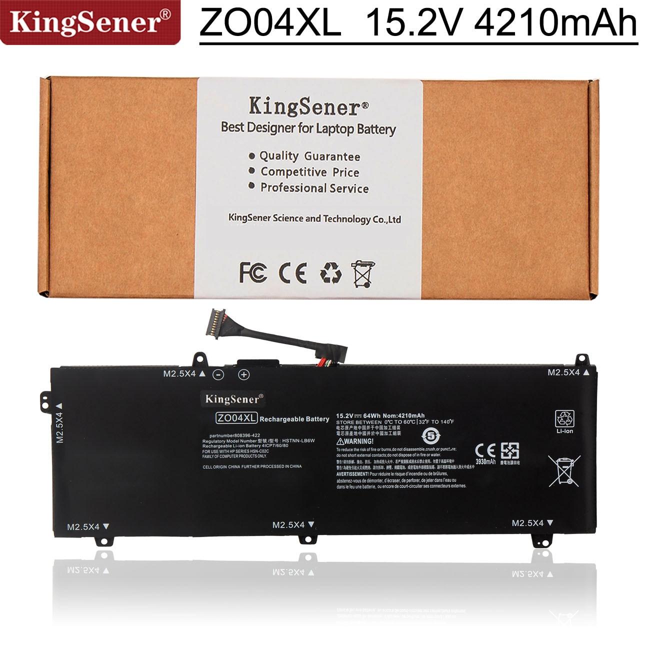 Kingsener 15.2V 64Wh ZO04XL محمول بطارية لجهاز HP ZBook استوديو G3 G4 808396-421 808450-001 HSTNN-CS8C HSTNN-C88C HSTNN-LB6W ZO04