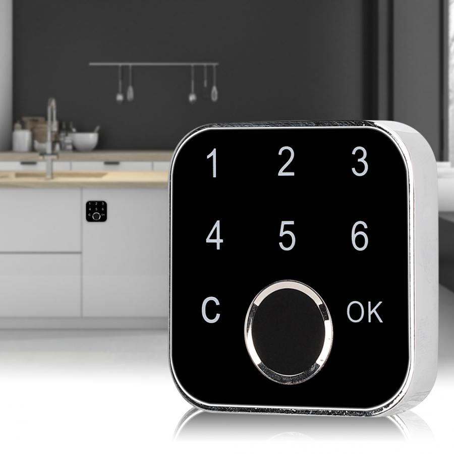 G16 Smart Fingerprint Password Keyless Lock for Drawer Wardrobe Cabinet Box Security Lock Fingerprint Lock,