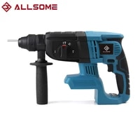 allsome brushless cordless rotary hammer drill tool rechargeable hamer impact drilll rechargeable power tools