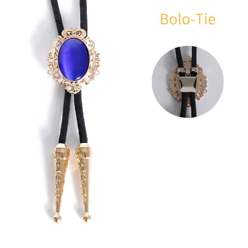 Мужской галстук Bolo, британский официальный аксессуар, галстук для бизнеса, банкета, коктейльной вечеринки, свадебной рубашки, золотистый га...