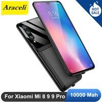 Araceli 10000 MAH For Xiaomi Mi 8 9 9 Pro Battery Case External Smart Capa Battery Mi9 Cover Power Bank Mi 9 Pro Charger Case