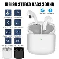 bluetooth 5 0 earphones set tws mini wireless headphones waterproof headsets noise cancelling 9d hifi earbuds
