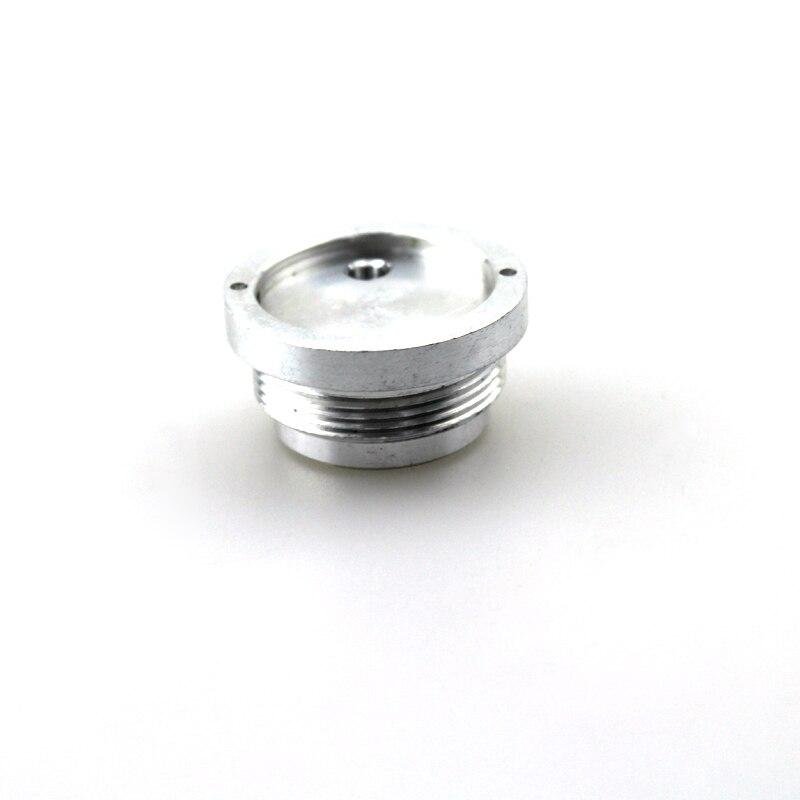 Posiciones del circuito Base de aluminio de diámetro de rosca de 22,5mm para linterna Ultrafire C8 (10 unids/lote)