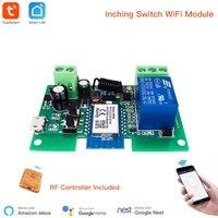 Module intelligent USB 7-32V  1 canal  Jog  autobloquant  WIFI  telecommande sans fil pour maison connectee  avec Amazon Alexa