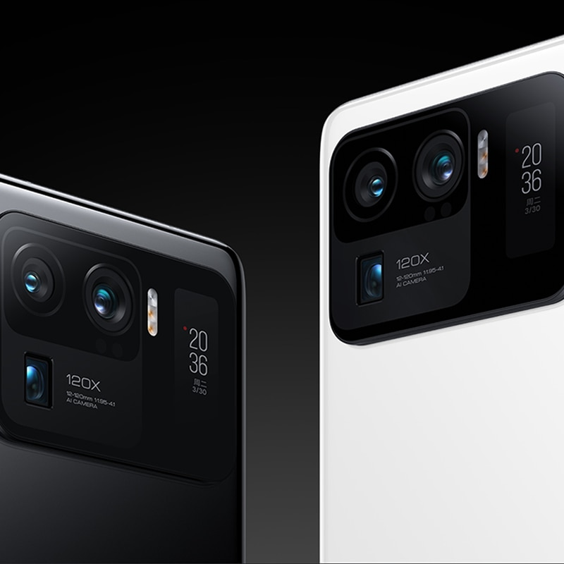 Xiaomi Mi 11Ultra Global Version 12GB+256GB 5G Smartphone Snapdragon 888 120X 50 Million Pixels 2K AMOLED Curved Flexible Screen enlarge