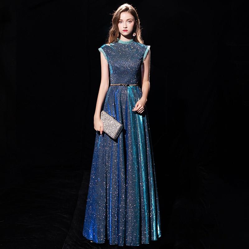 Vestido de fiesta femenino aura queen, vestido de Navidad Delgado elegante de gama alta, con temperamento aristocrático