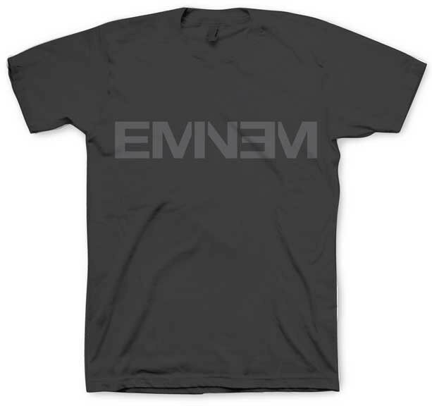 EMINEM-Logo gris-Camiseta S-M-L-XL-2XL mercancía Bravado oficial nueva