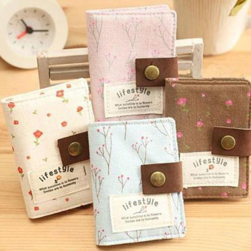 20 Slot Available Hasp Card Holder Women Lady Small ID Credit Card Holder Bag Clutch Bag Wallet Pouc