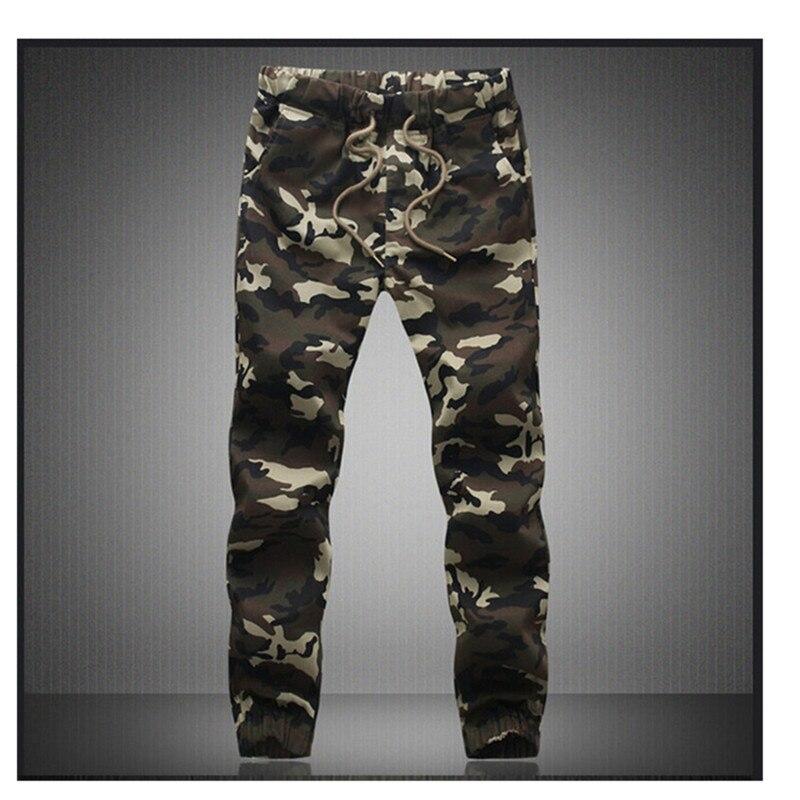 M-5X 2020 hombres Jogger otoño lápiz Harem pantalones hombres camuflaje militar pantalones sueltos cómodos Cargo pantalones Camo Joggers