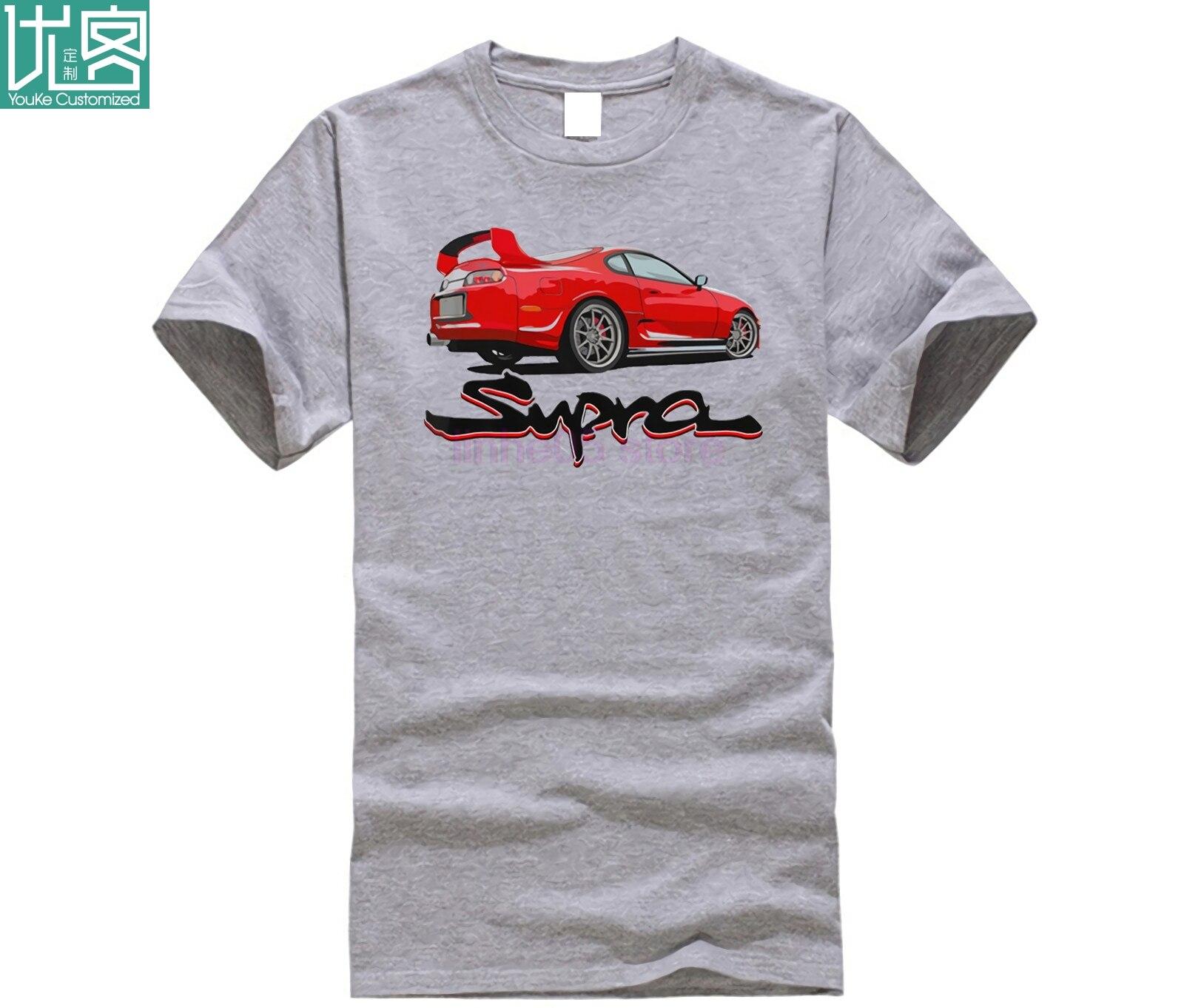 2JZ GTE A80 1993 Jdm Drifting divertido verano 2019 Cool camiseta Fans del coche japonés MK4 MKIV camisetas hombres y mujeres Phiking