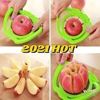 Aide a la cuisine trancheur de pommes  coupe-fruits de poire outil de division de fruits poignee confortable pour eplucheur de pommes de cuisine Gadgets de cuisine a domicile