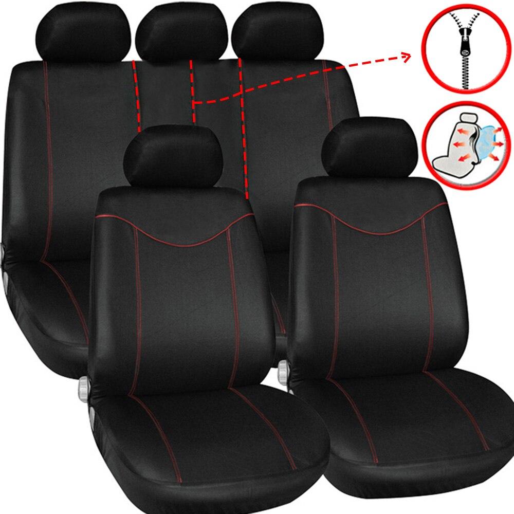 Cubiertas de asiento de coche Universal Interior Accesorios para BMW serie 5...