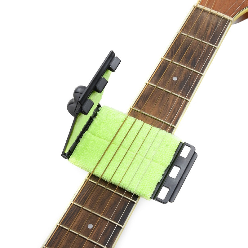 1 pcs  Guitar String Wipe String Cleaning Tool Maintenance  Care Device Cleaner String Wipe  Guitar Cleaning Accessories