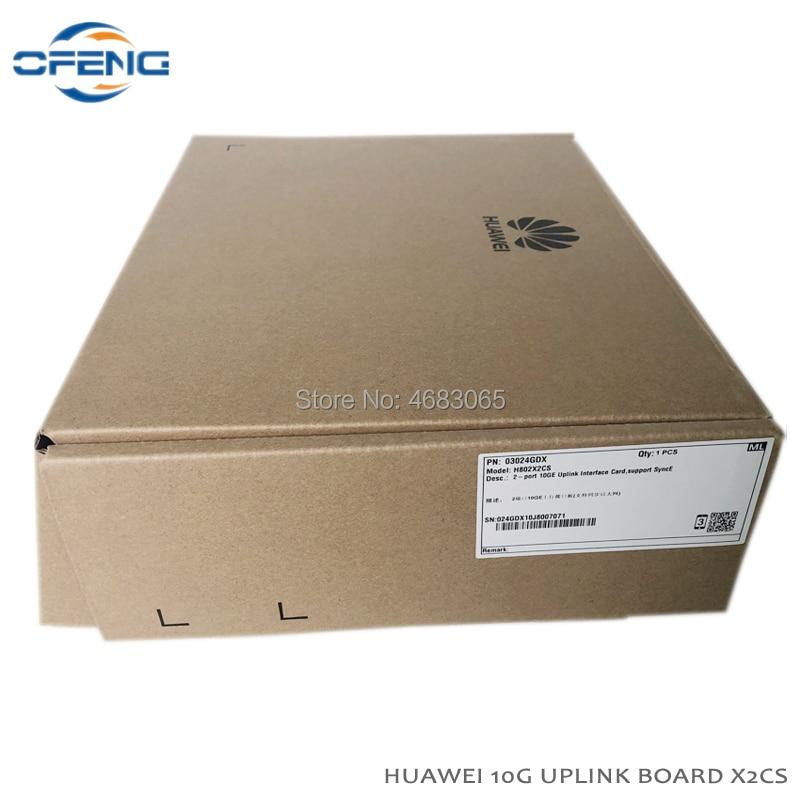 Huawei X2CS 2 Ports 10GE Uplink OLT Card with 2PCS SFP+ Module  10G uplink card X2CS for OLT MA5680T MA5683T